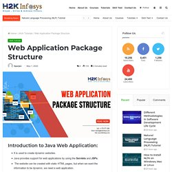 Web Application Package Structure - H2kinfosys Blog