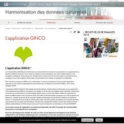 L'application GINCO - Harmonisation des données culturelles