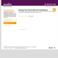 Application Help