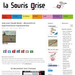 Joue avec Claude Monet : application iPad impressionniste
