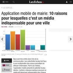 Application mobile de mairie: 10 raisons pour lesquelles c'est un média indispensable pour une ville, Le Cercle