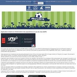 Application d'alerte et d'information des populations en cas de crise (SAIP) / Dossiers de presse / Presse