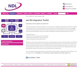 NDL - Application Integration, Mobile, Emulation, Integrate, Business, Solutions