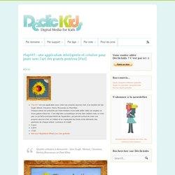 PlayART : une application intelligente et créative pour jouer avec l'art des grands peintres (iPad)