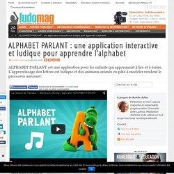 ALPHABET PARLANT : une application interactive et ludique pour apprendre l'alphabet