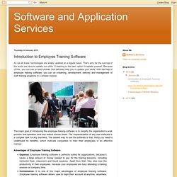 Introduction to Employee Training Software