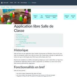 Application libre Salle de Classe — Informatique au lycée