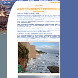 Application de la loi Littoral en Corse