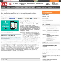 201407 LSA appli pr lutter contre gaspillage alimentaire