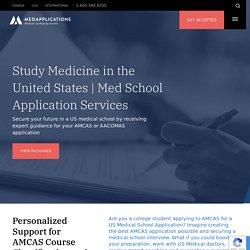 AMCAS Med School Application