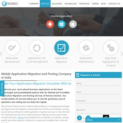 Mobile Application Migration Services Provider Company In India
