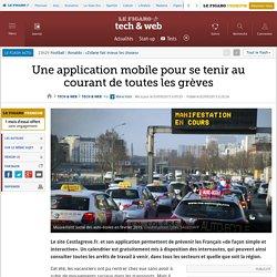 Une application mobile pour se tenir au courant de toutes les grèves