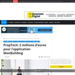 PropTech: 2 millions d'euros pour l'application MonBuilding