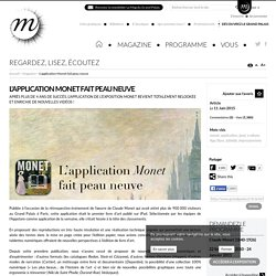 e-album Monet, une application pour iPad iOS