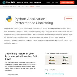 New Relic for Python