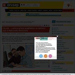 Folios : l'application numérique au service des 4 parcours éducatifs
