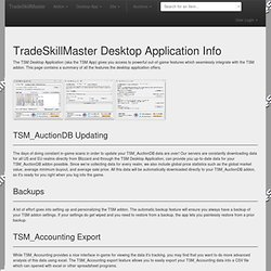 Desktop Application Overview / Download