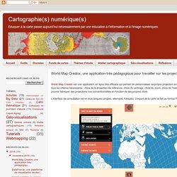 World Map Creator, une application très pédagogique pour travailler sur les projections