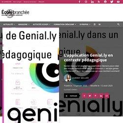 L'application Genial.ly en contexte pédagogique