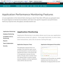 New Relic APM Features: Application Performance Monitoring Tools