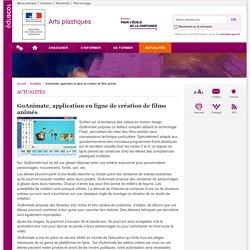 GoAnimate, application en ligne de création de films animés-Arts plastiques-Éduscol