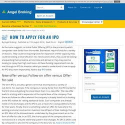Understanding How to Invest in IPO in India at Angel Broking