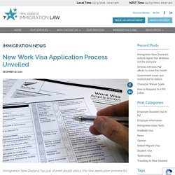New Work Visa Application Process Unveiled