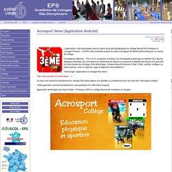 Acrosport 3ème (Application Androïd) - Site des professeurs d'EPS du Limousin