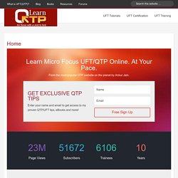 Ways to Launch your application | Quick Test Professional(QTP)