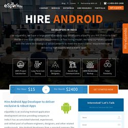 Android Application Programmers India