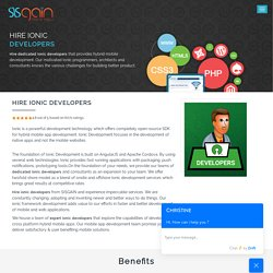Hire Ionic Application Developers