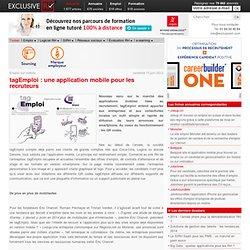tagEmploi : l'application pour le recrutement sur mobile