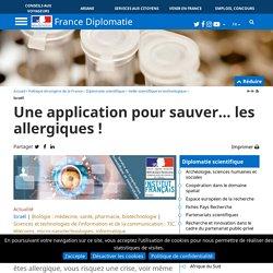 Une application pour sauver… les allergiques !