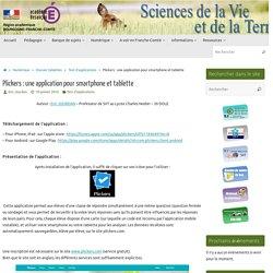 Plickers : une application pour smartphone et tablette » SVT - Académie de Besançon