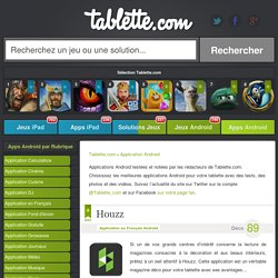 Application Tablette Android