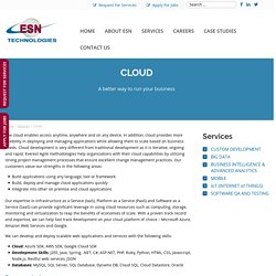 Offshore Cloud Application Development