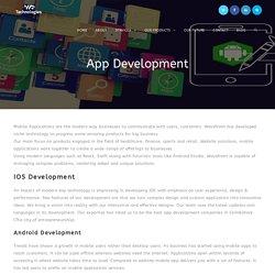 App Development : Wavefront Technologies