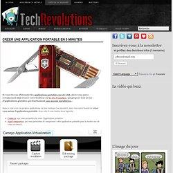 Créer une application portable en 5 minutes