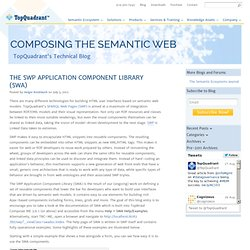 The SWP Application Component Library (SWA) » TopQuadrant, Inc
