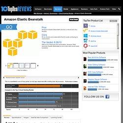 Amazon Cloud Application Platform - TopTenREVIEWS