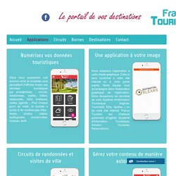 Application touristique pour Smartphone/mobile Android, ios, Windows