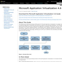Microsoft Application Virtualization 4.6