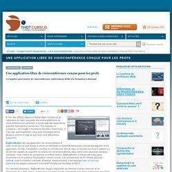 Une application libre de visioconférence conçue pour les profs