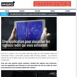 Une application pour visualiser les signaux radio qui vous entourent