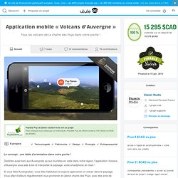 Application mobile « Volcans d'Auvergne »