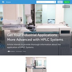 Get Your Industrial Applications More Advanced with HPLC Systems (with image) · aimanalytical