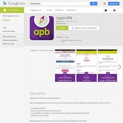 L'appli APB : pour suivre le calendrier de l'admission post-bac
