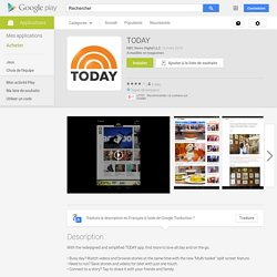 TODAY – Applications Android sur Google Play