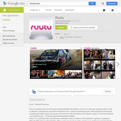Ruutu – Applications Android sur Google Play