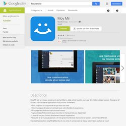 Moy Mir – Applications Android sur GooglePlay